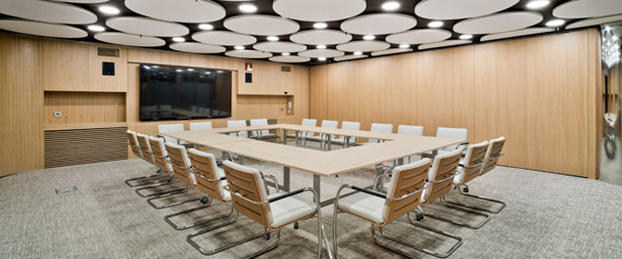 Sala 4 del MEETING PLACE Castellana 81 (Madrid)